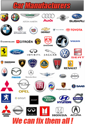 Cartec list of car manufacturers